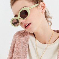 Crap Eyewear The Love Tempo Oval Sunglasses | Urban Outfitters