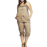 Roll Cuff Cargo Overalls | Wet Seal +