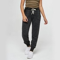 Project Social T - Bonfire Skinny Jogger Pants in Black