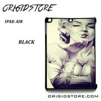 Hot Marilyn Monroe And Tattoo For Ipad Air 2 Case Please Make Sure Your Device With Message Case UY