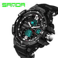 Fashion Watch Men G Style Waterproof LED Sports Military Watches Shock Men's Analog Quartz Digital Watch relogio masculino