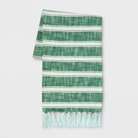 Cotton Woven Stripe Throw - Threshold™