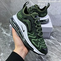 HCXX N1039 Nike Air Max 720 inne eye Mesh Breathable Comfortable Running Shoes Green