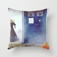 The doctor and his wife Throw Pillow by River Song