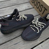 Adidas Yeezy Boost 350 V2 Black Static FU9006