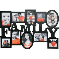 Family Heritage 17.5x25 Black Wall Collage Photo Frame - Walmart.com