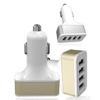 QUAD PORTS USB Car Adapter and Charger