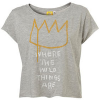 Grey Where The Wild Things Are Tee By Sweet And Sour - New In This Week - Topshop