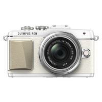 Olympus PEN E-PL7 (16MP, 3 inch Tiltable Touch Screen) Compact System Camera with 14-42 zoom lens - White