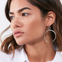 Luv Aj Oversized Crescent Hoop Earring | Urban Outfitters