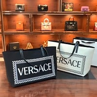 Versace women's large-capacity shopping bag handbag messenger bag
