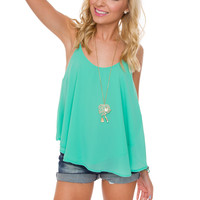 Nellie Top - Teal