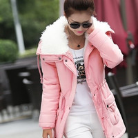 Women's Fashion Winter Outwear Casual Warm Coat = 1920400452