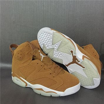 Air Jordan 6 Retro AJ6 Wheat Men Basketball Shoes US8-13