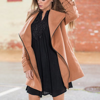 World Wanderer Coat, Camel