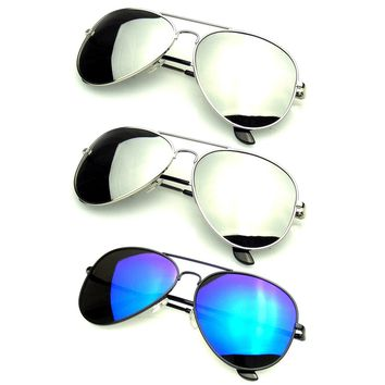Bundle Of Sunglasses In Bundles 3 Pairs Of Silver Mens Womens Sun Glasses EE05