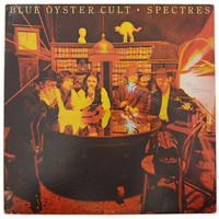 Vintage 70s Blue Oyster Cult Spectres Hard Rock Album Record Vinyl LP