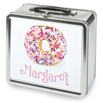 personalized donut lunchbox-Chasing Fireflies
