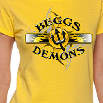 Beggs Demons Flame T-Shirt