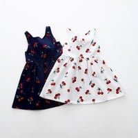 Baby Girl Sleeveless Summer Dress