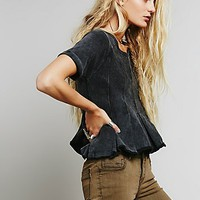 We The Free Womens We The Free Drifter Pleated Tee