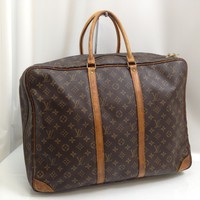 Authentic LOUIS VUITTON Monogram SIRIUS 50 Travel Hand Bag 7K220520#