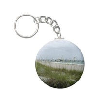 Blustery Day at the Beach Keychains from Zazzle.com