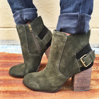The lorenza bootie