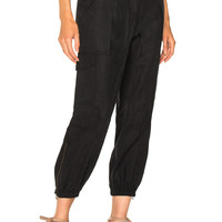 Ulla Johnson Edris Pants in Noir | FWRD
