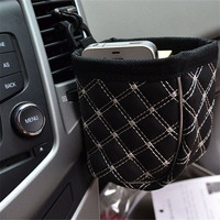 Car Outlet Bucket Black Pouch