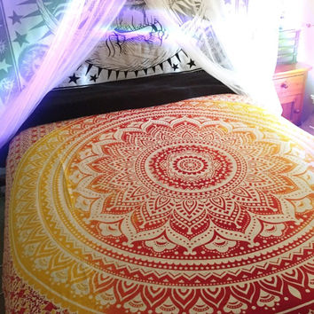 Shopnelo Home Special BIG Mandala Hippie Tapestry, Hippie Wall Hanging,Bedroom special Tapestries, Bohemian Tapestries, Queen Mandala Home Decor