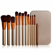 Hot Sale 12 Pcs High Quality Makeup Brush Set Pinceaux Maquillage Professional Makeup Brushes