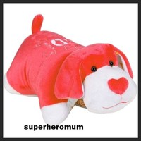 ONE DIRECTION 1D - SIGNATURES RED  *SMALL*  PUPPY PILLOW PET / PAL Pets NEW