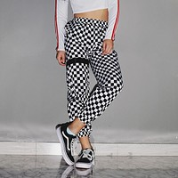 Checkered Racer Joggers
