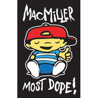 Mac Miller Blacklight Poster