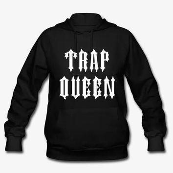 Trap Queen Pullover Long Sleeve Hoodie