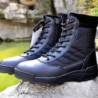 Tactical Boots Military Style Breathable Hiking boots