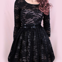 Plus Size Party /black /romantic / wedding party/ cocktail/ lace /mini dress