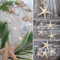 Beach Wedding Decorations,starfish centerpiece,Starfish wedding,Starfish garland,starfish decor,Beach party decor,mermaid birthday,Star etsy