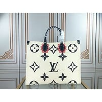 new lv louis vuitton womens tote bag handbag shopping leather tote crossbody satchel