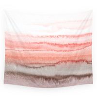 Society6 WITHIN THE TIDES CORAL DAWN Wall Tapestry