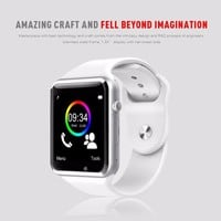 A1 Smartwatch Intelligent Digital Sport Gold Smart Watch New Pedometer For Phone Android Wrist Watch Men Women's satti Watch