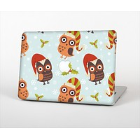 "The Orange Cartoon Winter Owls Skin Set for the Apple MacBook Pro 13"" with Retina Display"