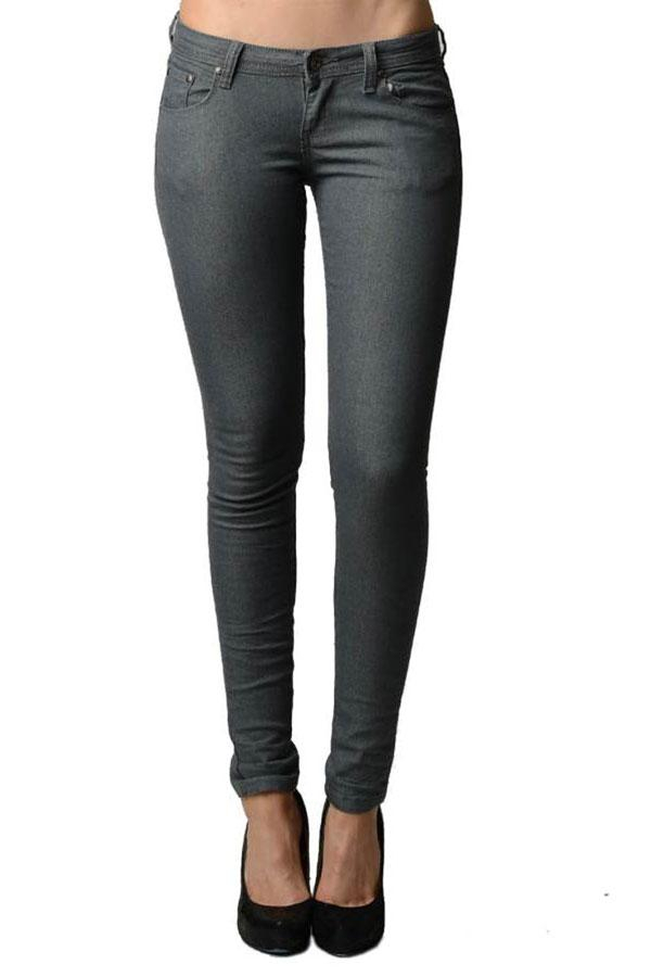 Image of Classic Gray Skinny Jeans