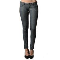 Classic Gray Skinny Jeans