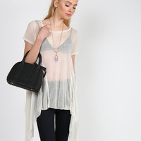 Drapey Sheer Top