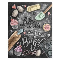 Life's What You Bake It - Print