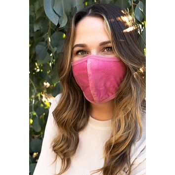 PINK - ADULT'S EAR COVER FACE MASK