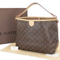 Authentic LOUIS VUITTON Delightful PM Monogram Shoulder Bag Purse #21992