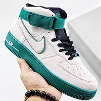 Trendsetter Nike Air Force 1 AF1  Women Men Fashion Casual Mid-Top Skateboard Shoes